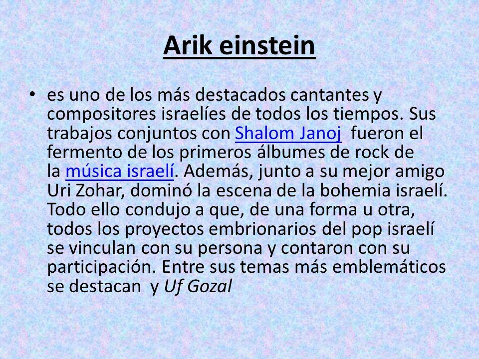 Arik einstein