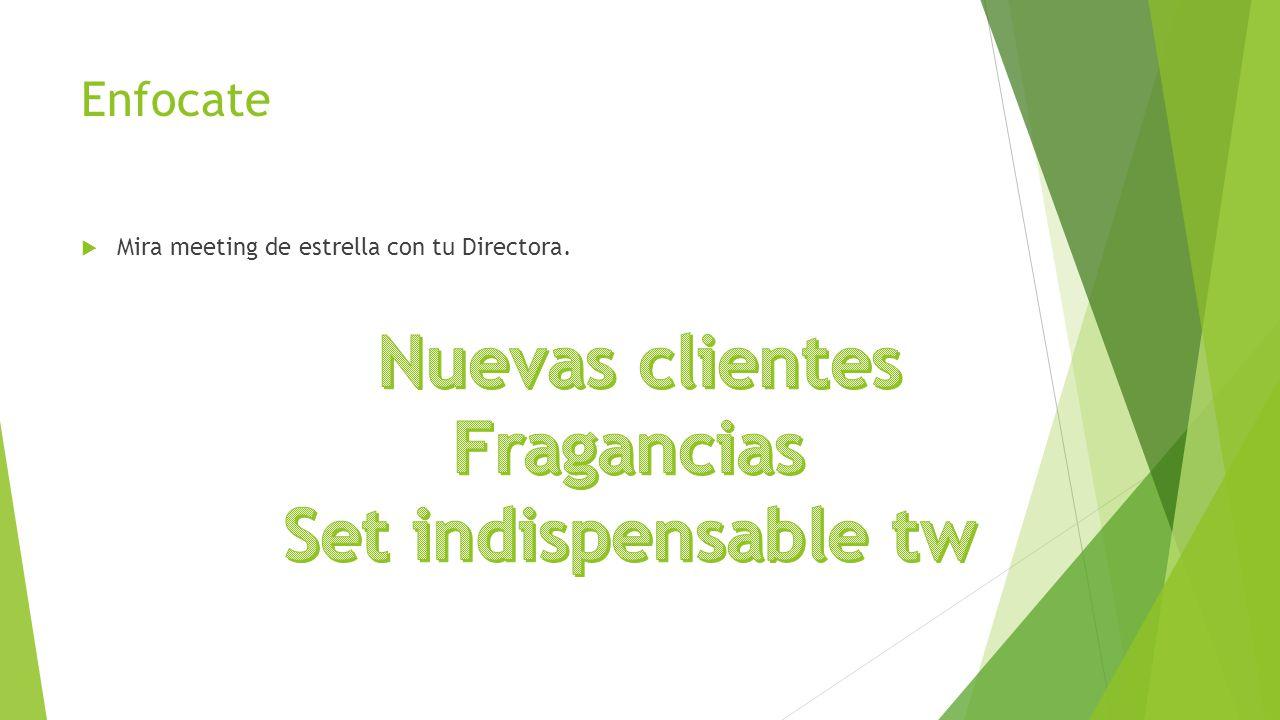 Nuevas clientes Fragancias Set indispensable tw