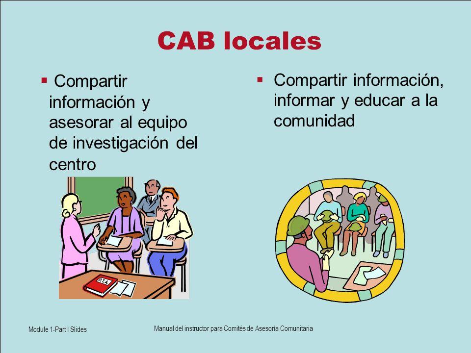 Cualidades de un miembro ideal del CAB