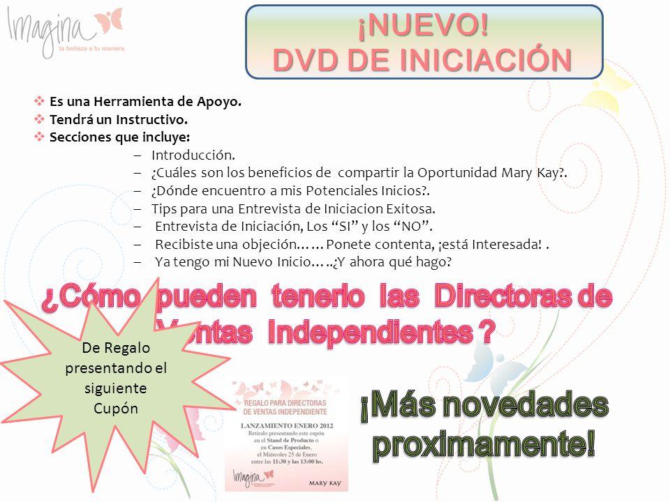 ¡NUEVO! DVD DE INICIACIÓN