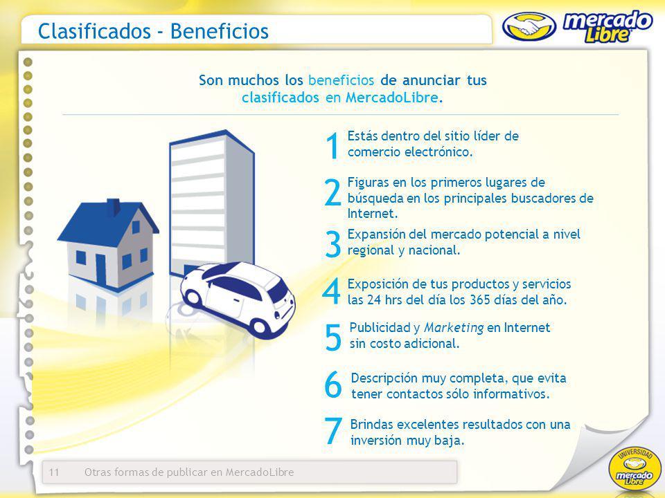 Clasificados - Beneficios