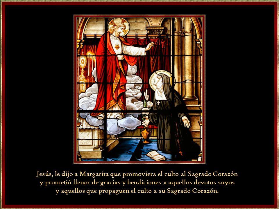 Jesús, le dijo a Margarita que promoviera el culto al Sagrado Corazón