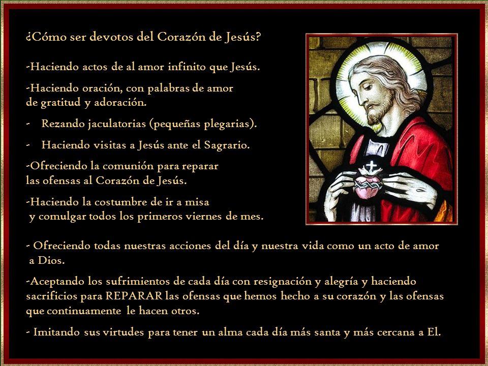 ¿Cómo ser devotos del Corazón de Jesús