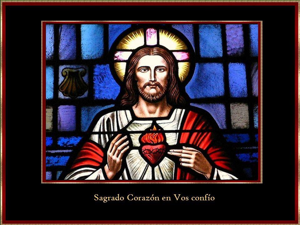 Sagrado Corazón en Vos confío