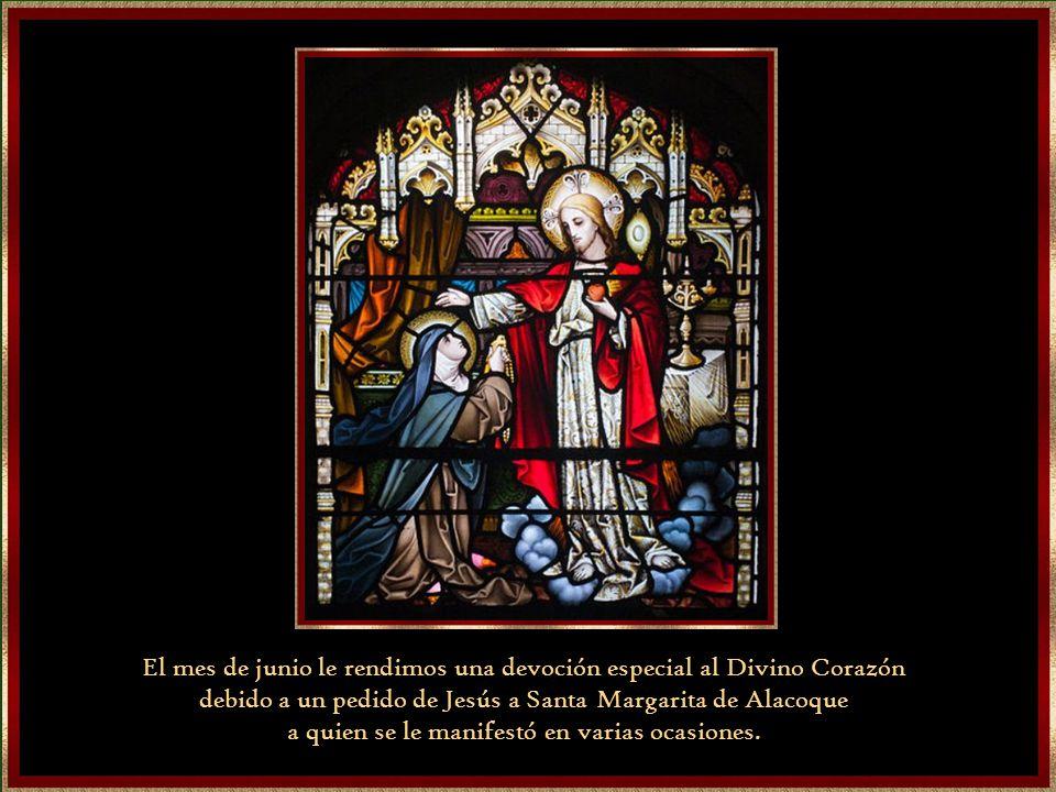 El mes de junio le rendimos una devoción especial al Divino Corazón