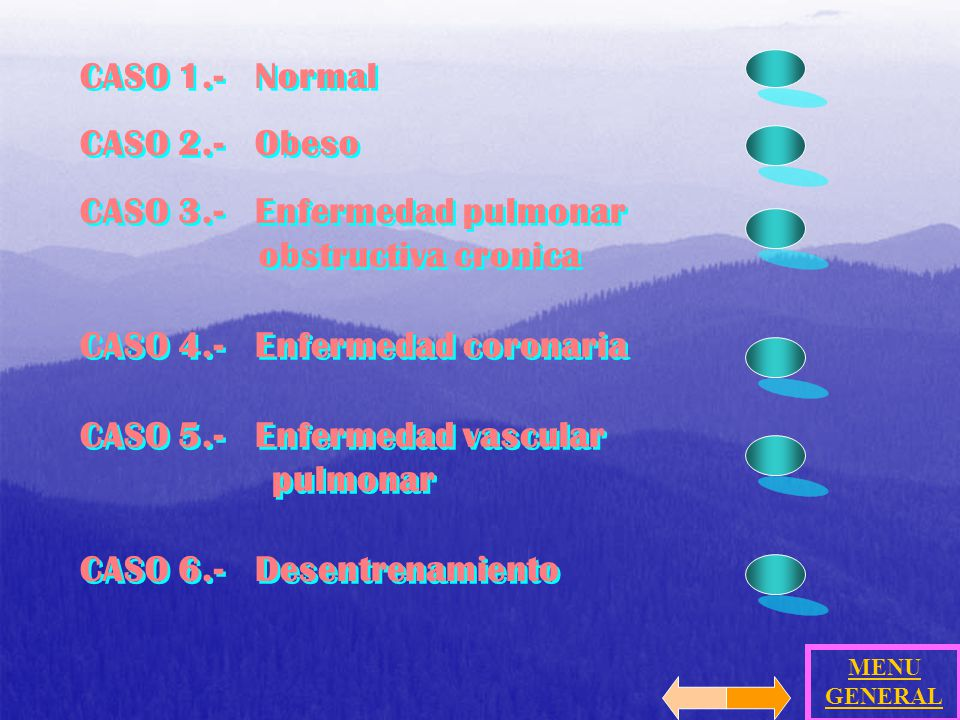 CASO 3.- Enfermedad pulmonar obstructiva cronica