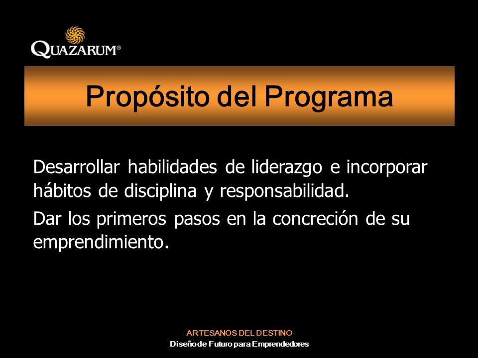 Propósito del Programa