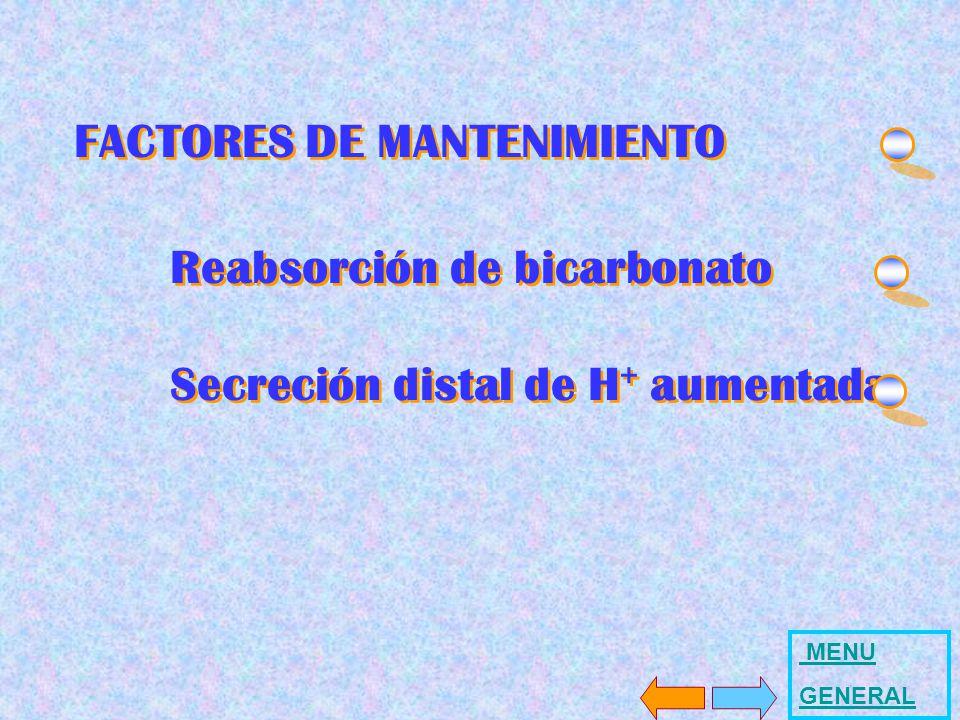 Reabsorción de bicarbonato