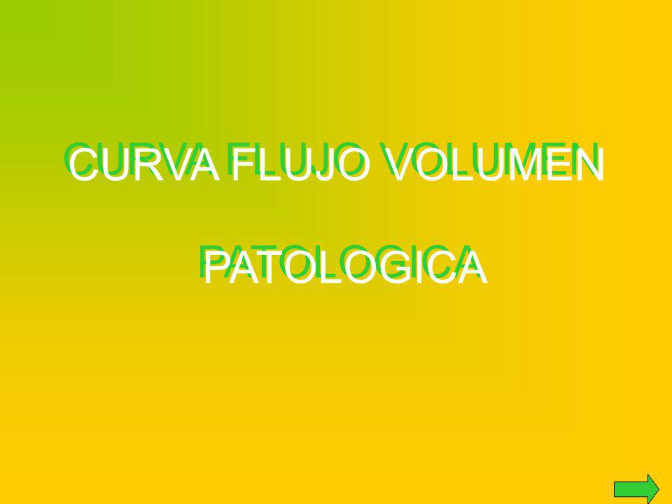 CURVA FLUJO VOLUMEN PATOLOGICA