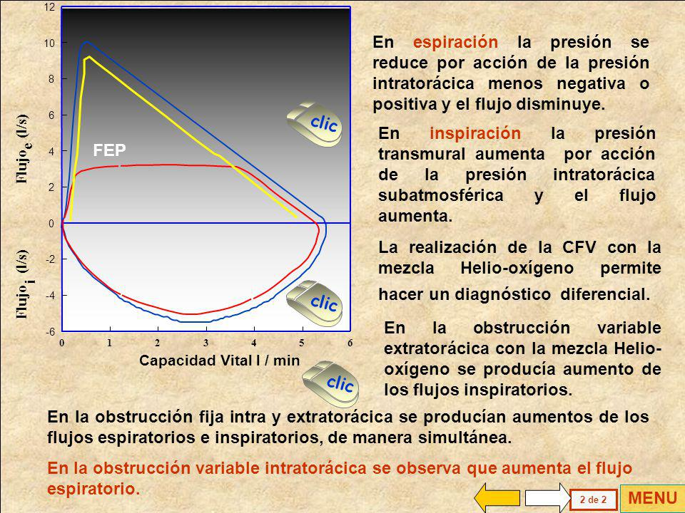 Flujo (l/s) i. e. 1. 2. 3. 4. 5. 6. 8. 10. 12. -2. -4. -6. Capacidad Vital l / min.
