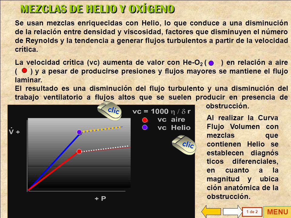 MEZCLAS DE HELIO Y OXÍGENO