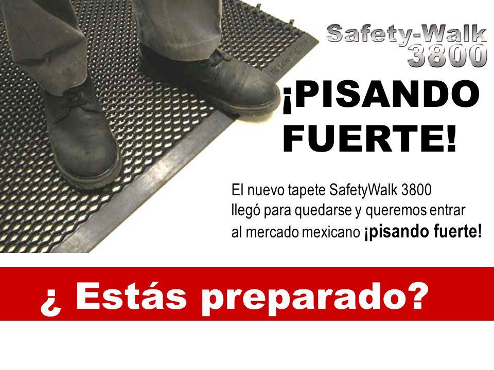 ¡PISANDO FUERTE! ¿ Estás preparado El nuevo tapete SafetyWalk 3800