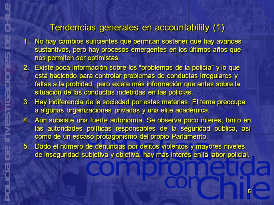 Tendencias generales en accountability (1)