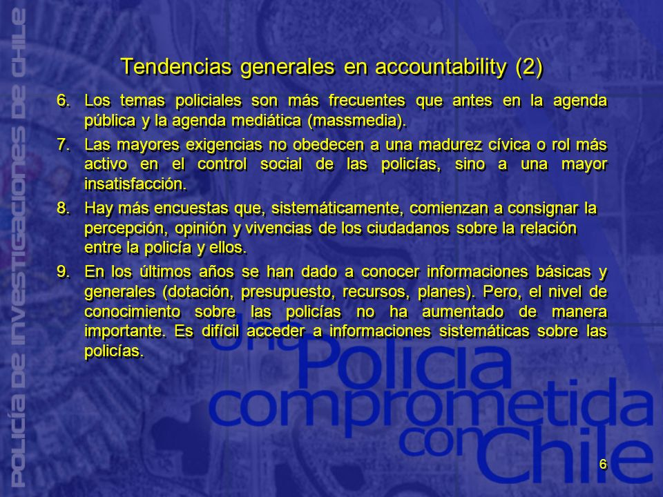 Tendencias generales en accountability (2)