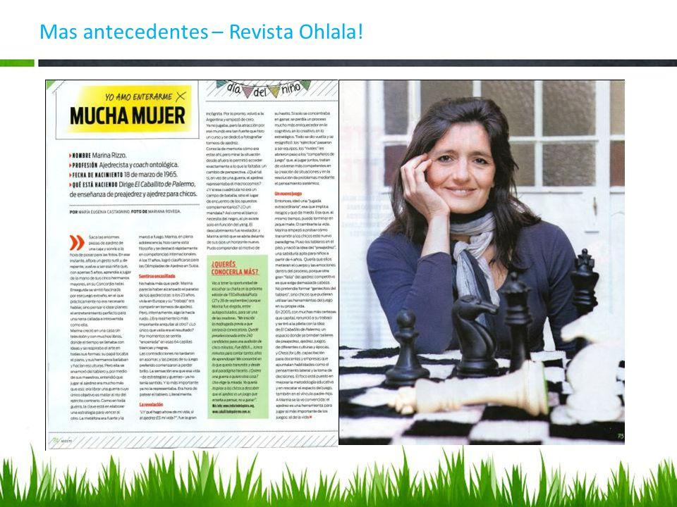 Mas antecedentes – Revista Ohlala!