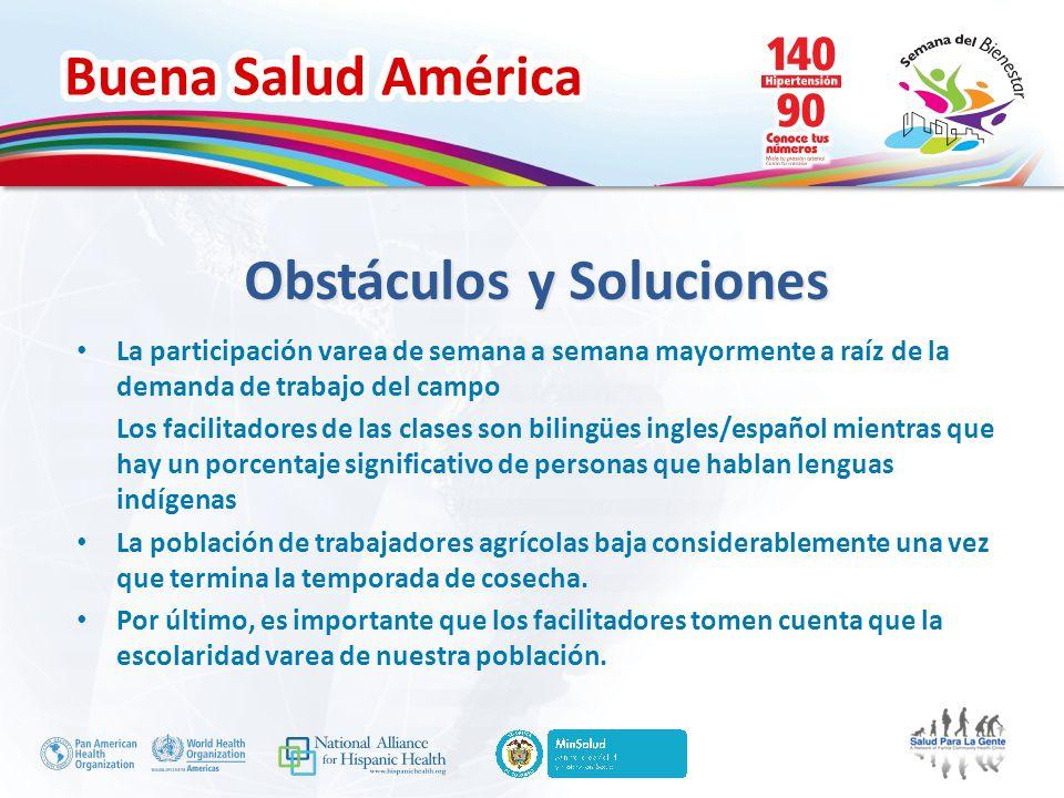 Obstáculos y Soluciones