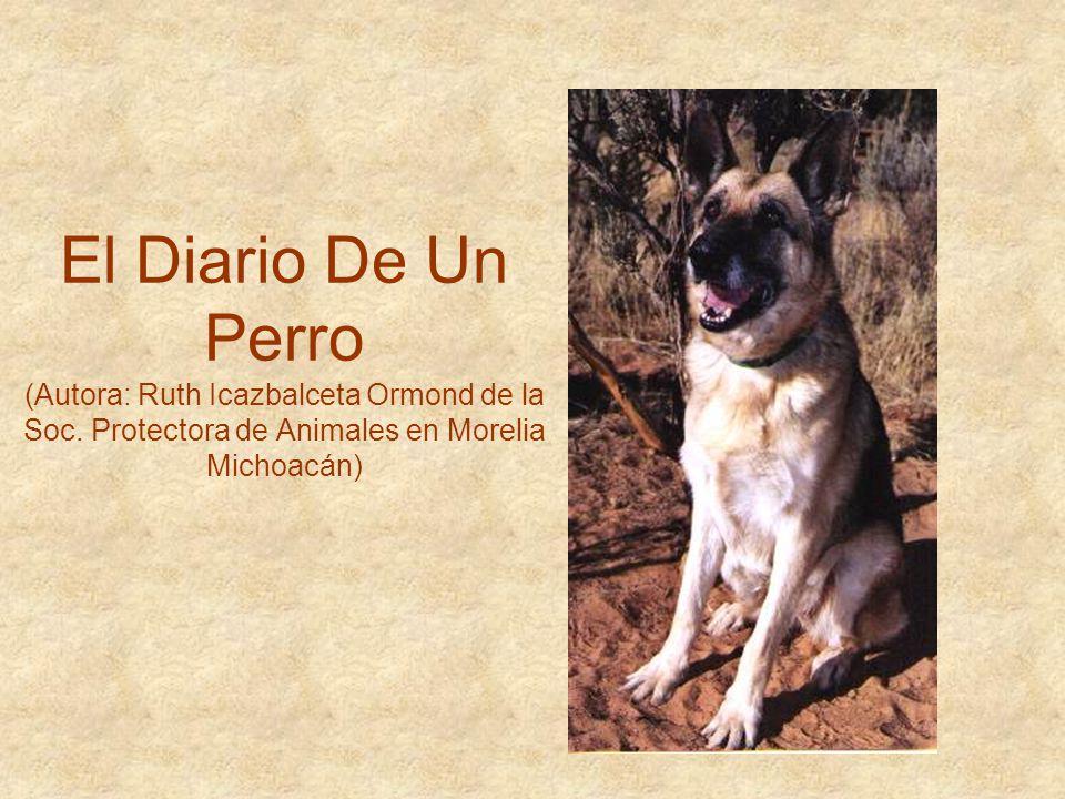 El Diario De Un Perro (Autora: Ruth Icazbalceta Ormond de la Soc