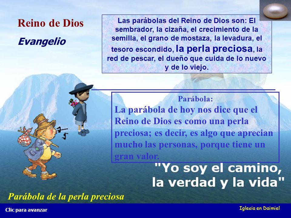 Reino de Dios Evangelio