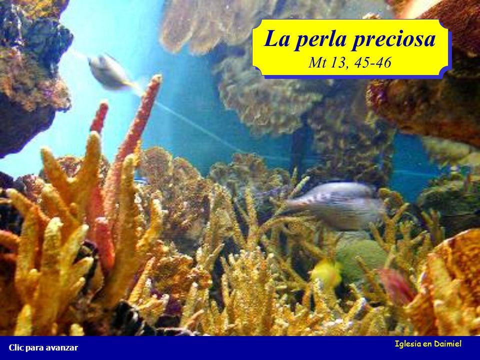 La perla preciosa Mt 13, 45-46 Iglesia en Daimiel Clic para avanzar