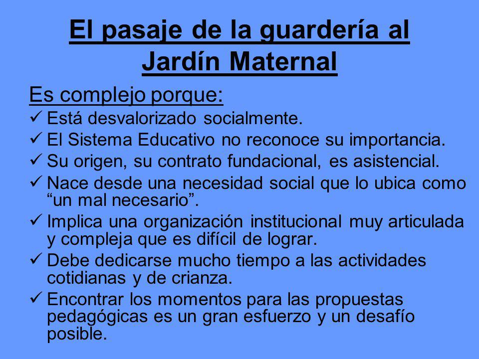 Educar en el jard n maternal ppt video online descargar for Actividades para jardin maternal