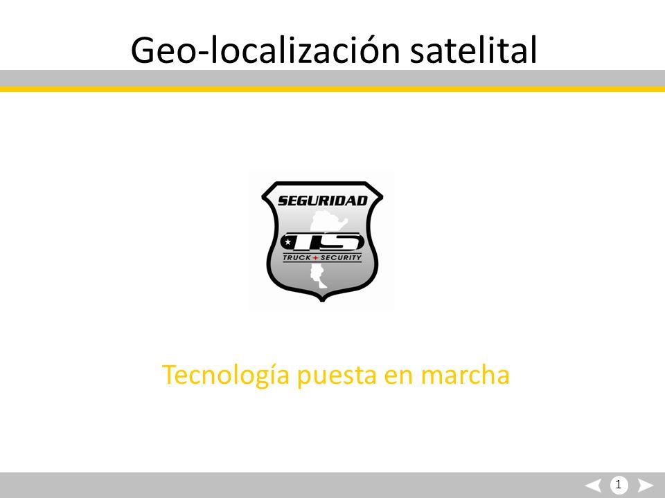 Geo-localización satelital