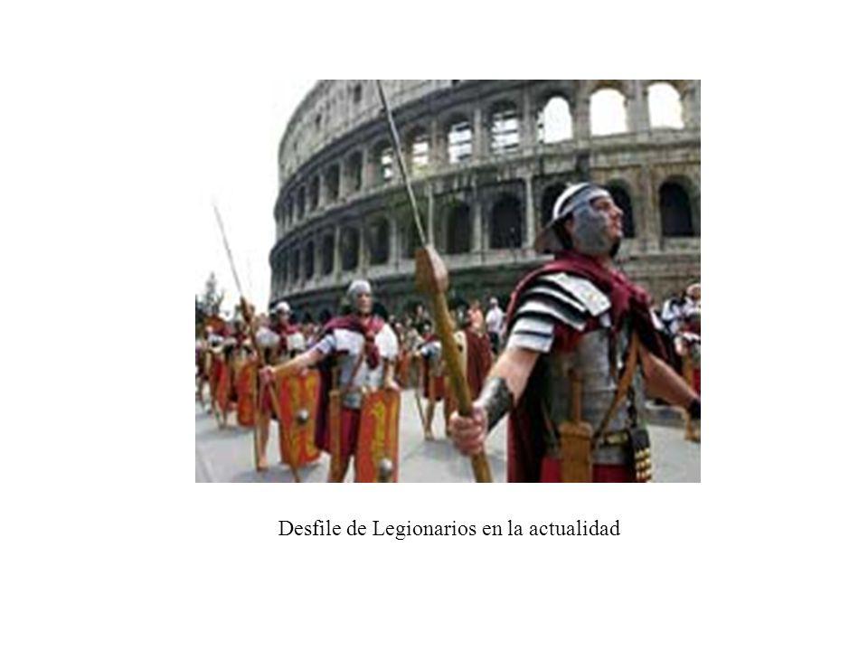 Desfile de Legionarios en la actualidad
