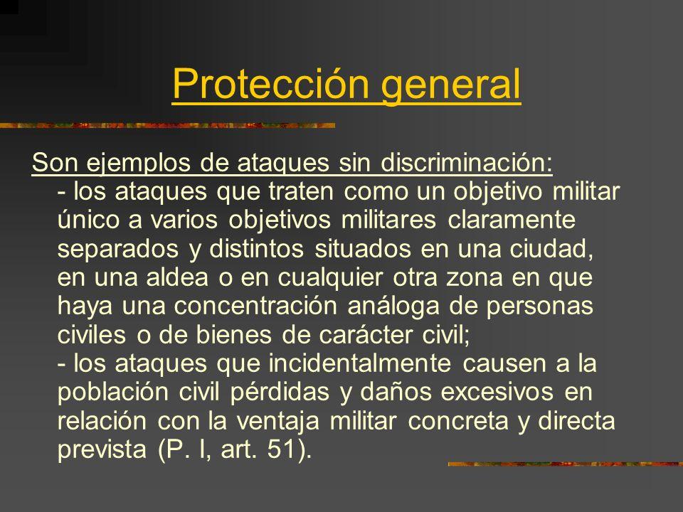 Protección general