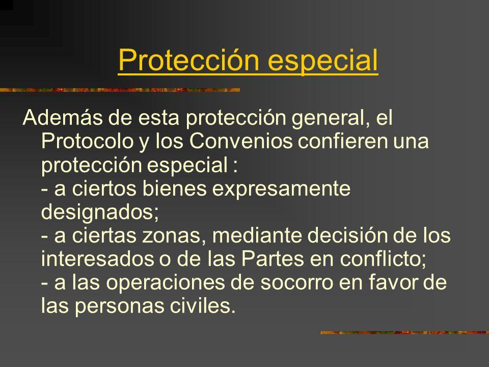 Protección especial