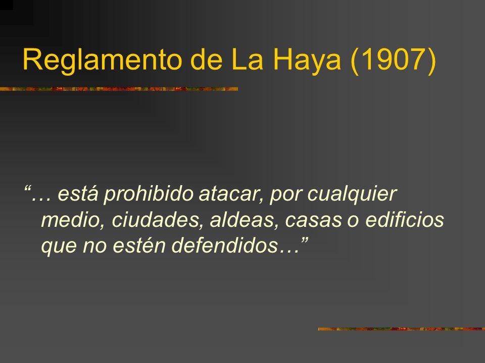 Reglamento de La Haya (1907)
