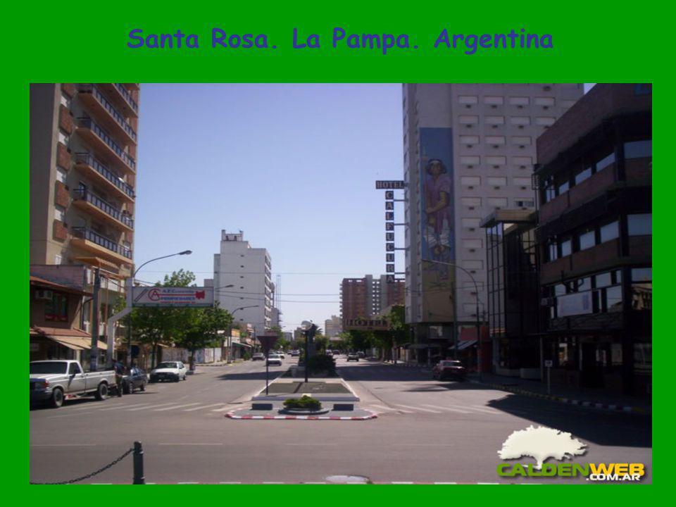 Santa Rosa. La Pampa. Argentina
