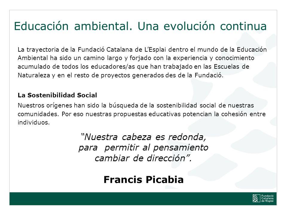Educación ambiental. Una evolución continua