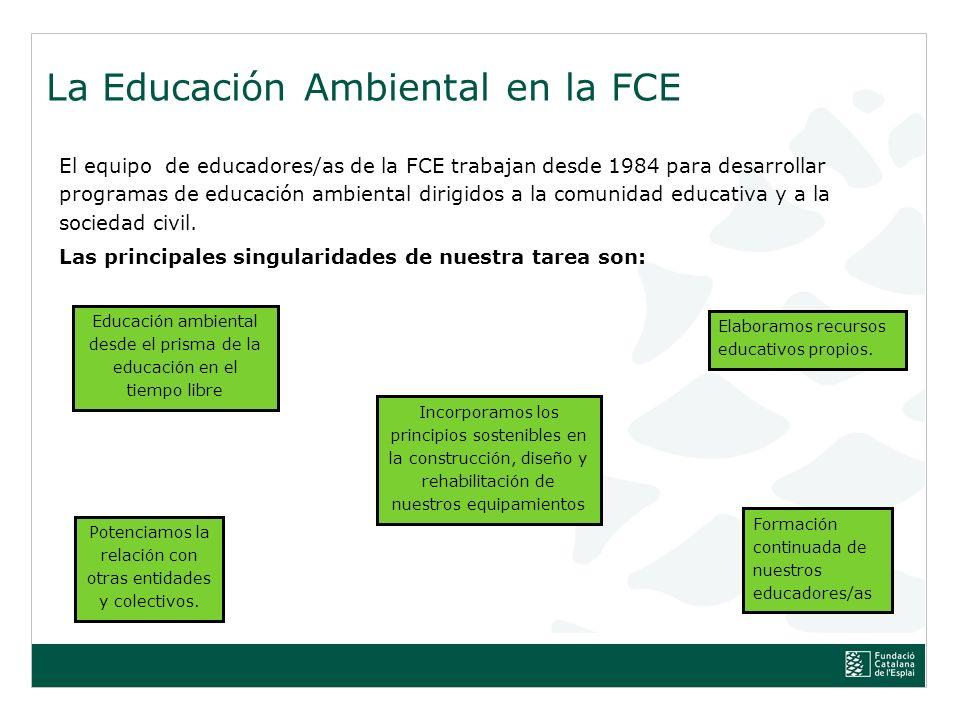 La Educación Ambiental en la FCE