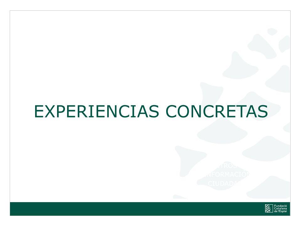 EXPERIENCIAS CONCRETAS
