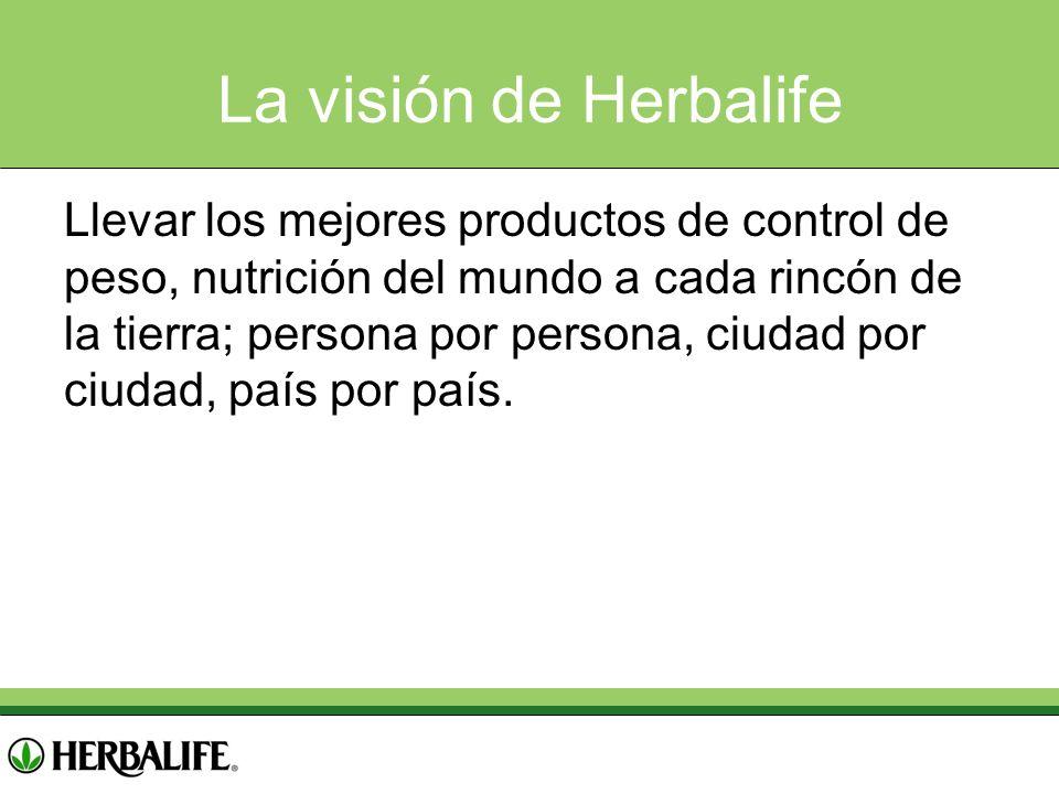 La visión de Herbalife