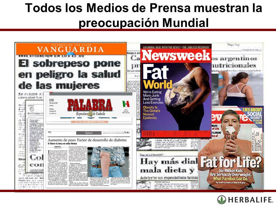 Todos los Medios de Prensa muestran la preocupación Mundial