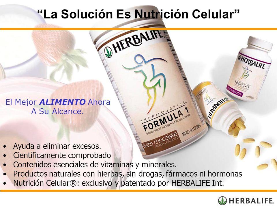 La Solución Es Nutrición Celular