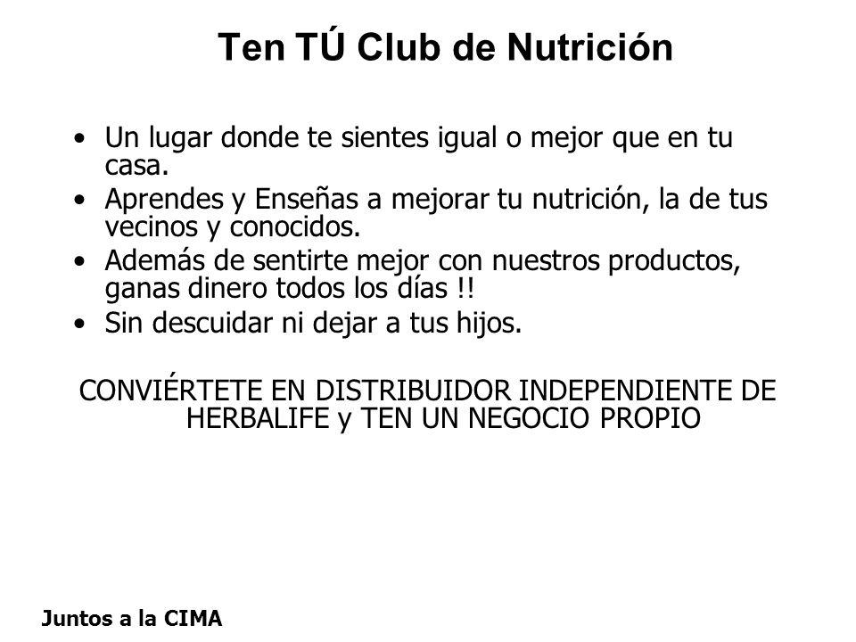 Ten TÚ Club de Nutrición