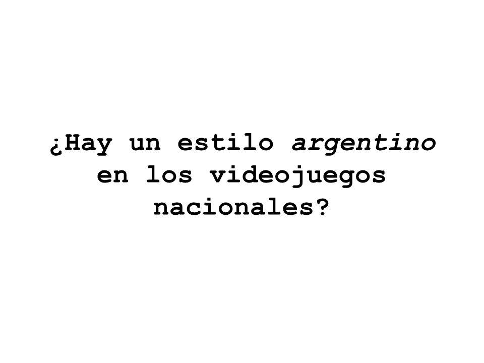 ¿Hay un estilo argentino en los videojuegos nacionales
