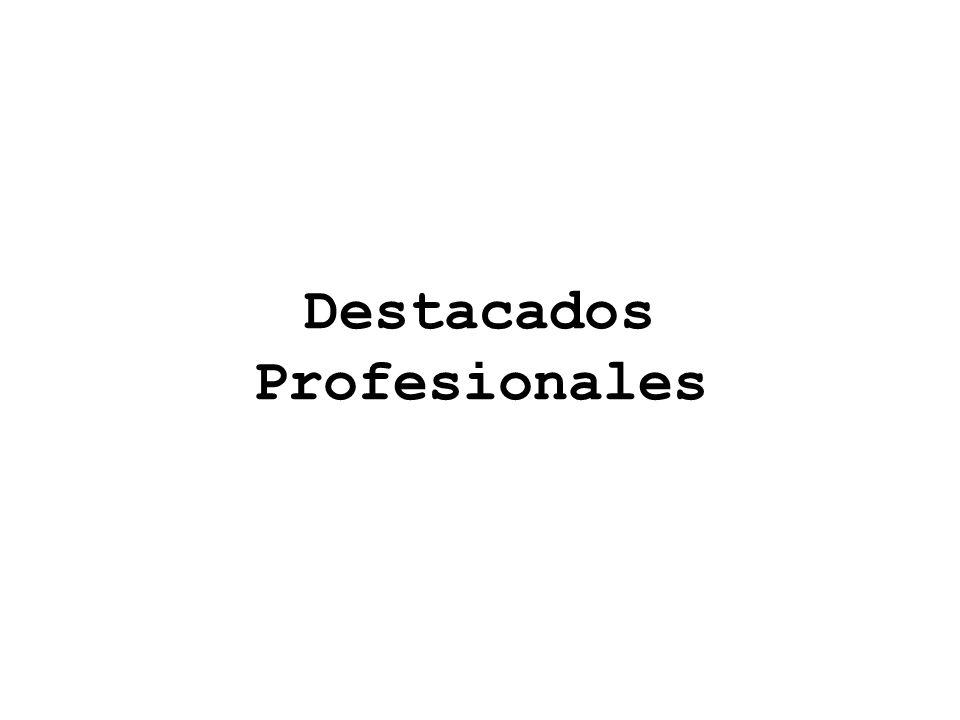 Destacados Profesionales