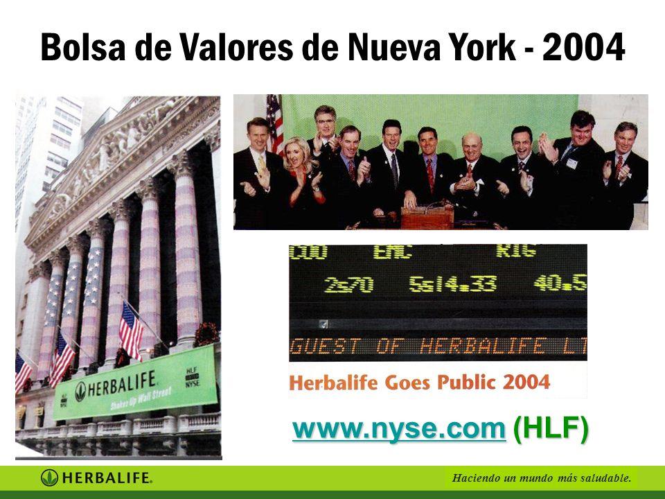 Bolsa de Valores de Nueva York - 2004