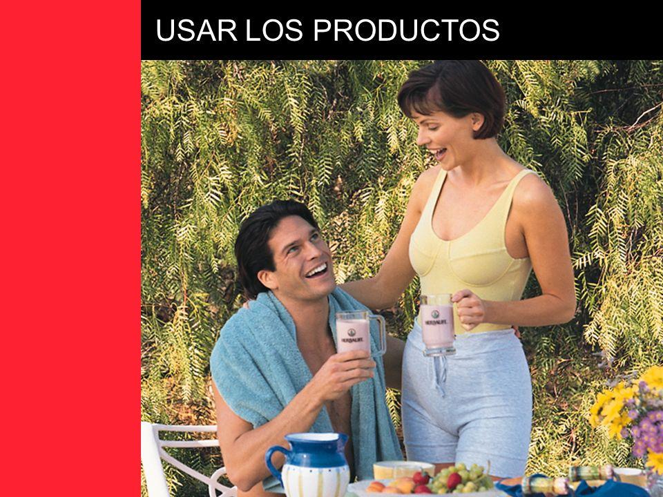 USAR LOS PRODUCTOS