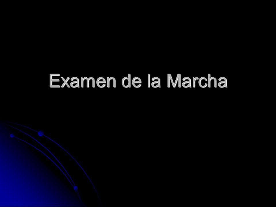 Examen de la Marcha