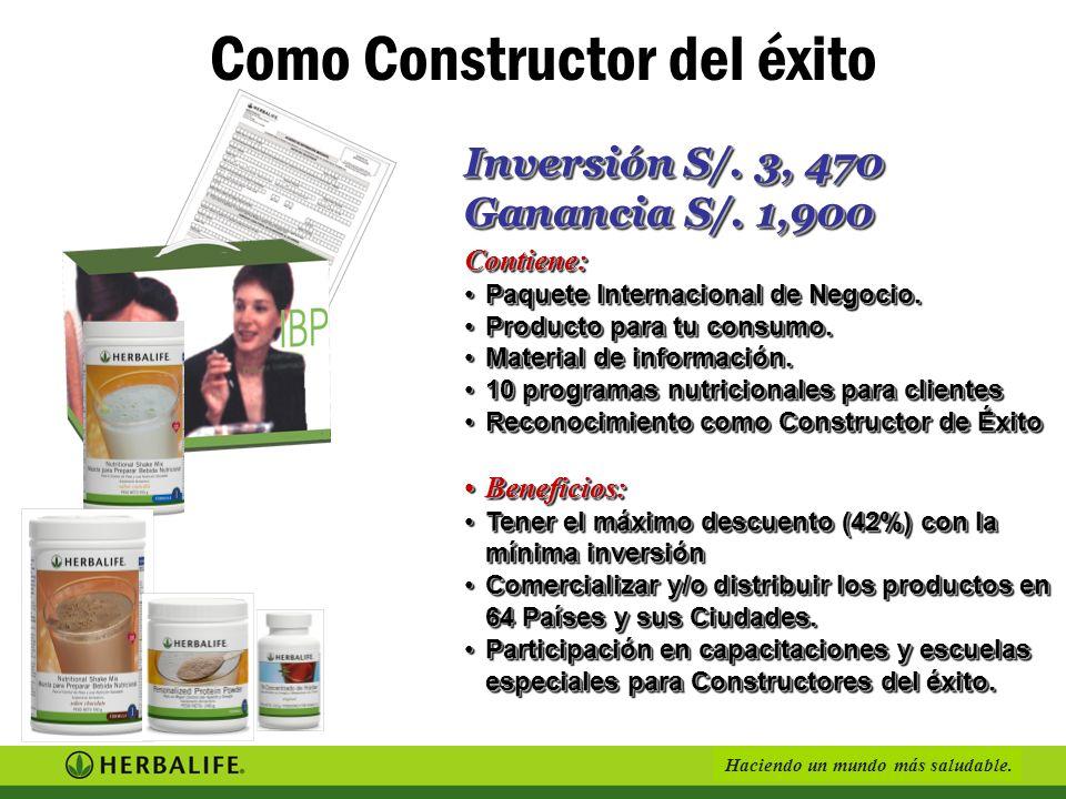 Como Constructor del éxito