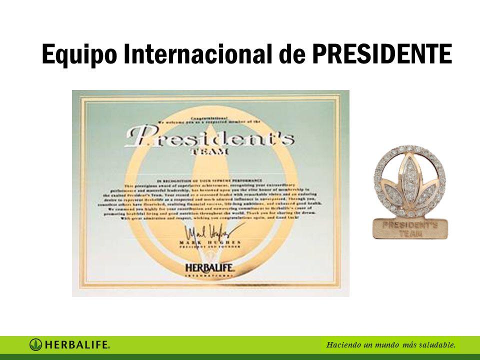 Equipo Internacional de PRESIDENTE