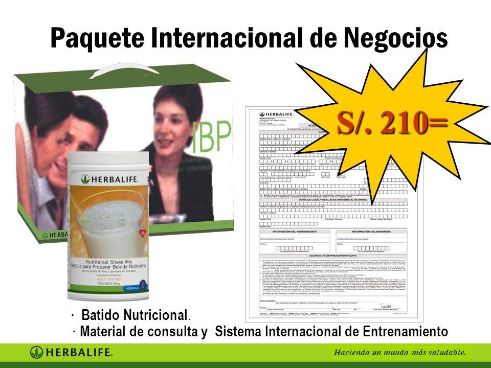 Paquete Internacional de Negocios