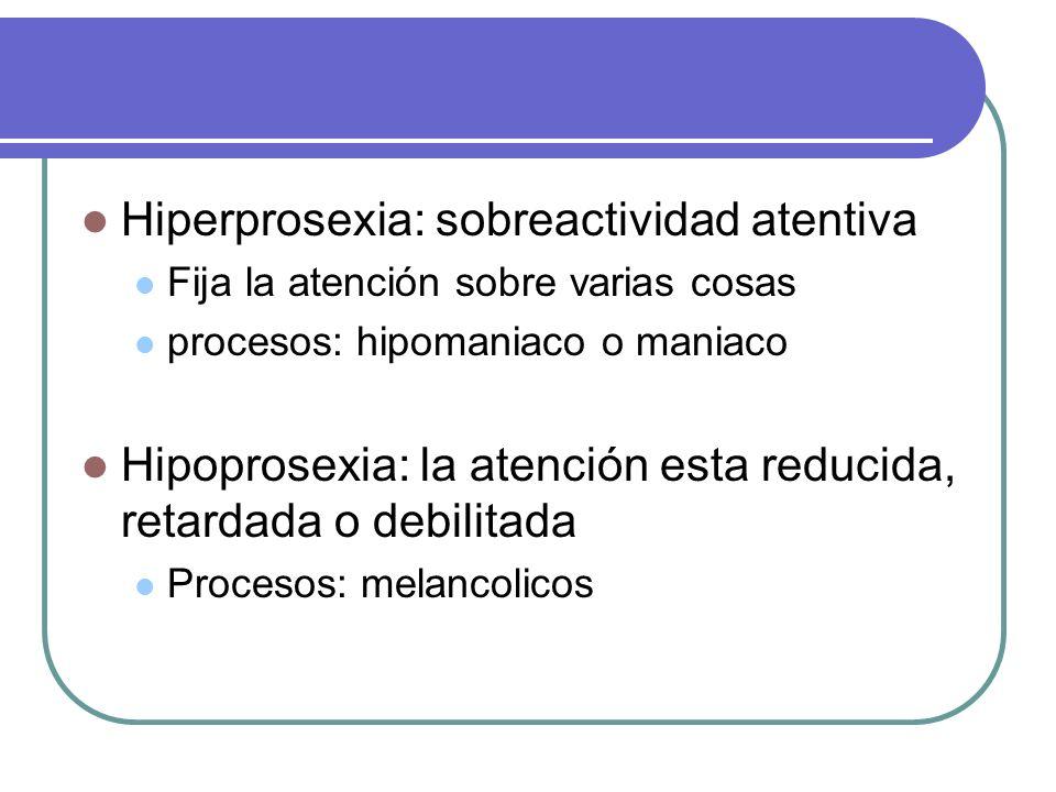 Hiperprosexia: sobreactividad atentiva