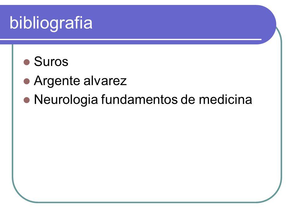 bibliografia Suros Argente alvarez Neurologia fundamentos de medicina