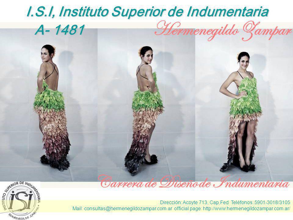 I.S.I, Instituto Superior de Indumentaria
