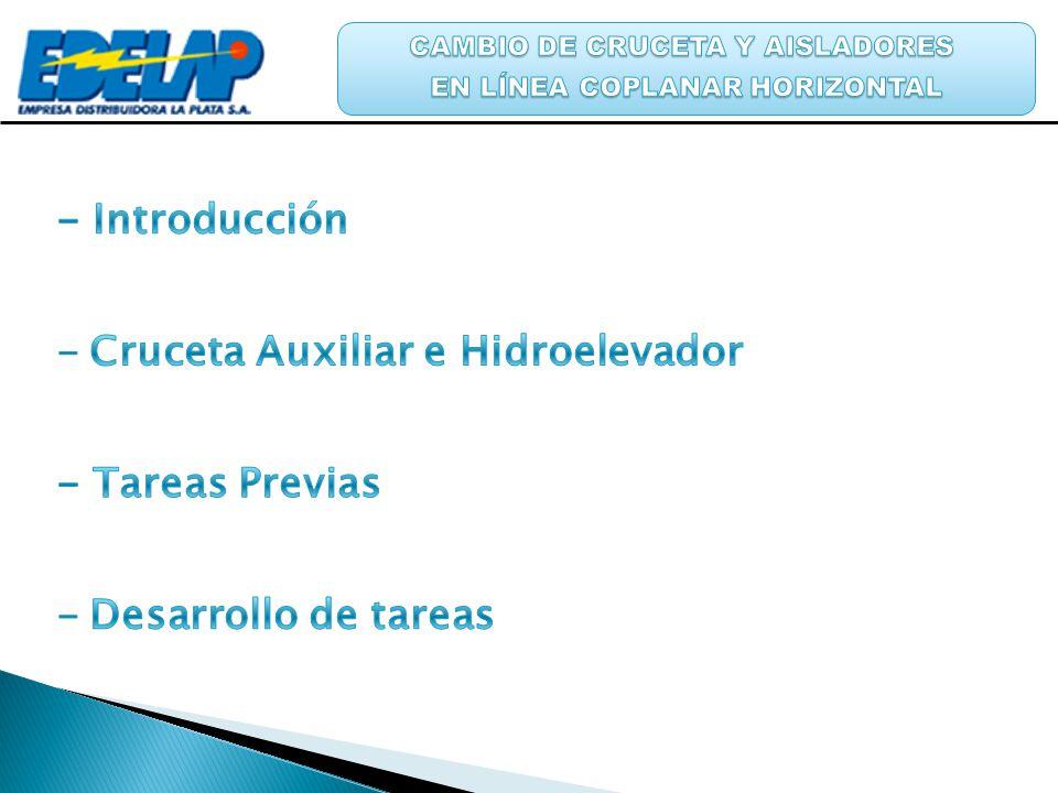 Cruceta Auxiliar e Hidroelevador