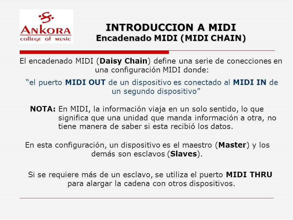 Encadenado MIDI (MIDI CHAIN)